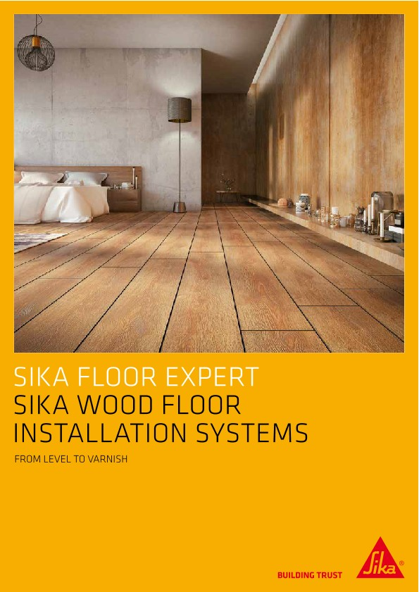 Sika Wood Floor Installation Systems