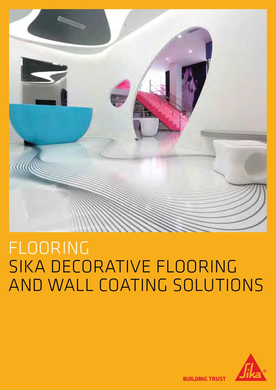 Sika Decorative Flooring and Wall Coating Solutions