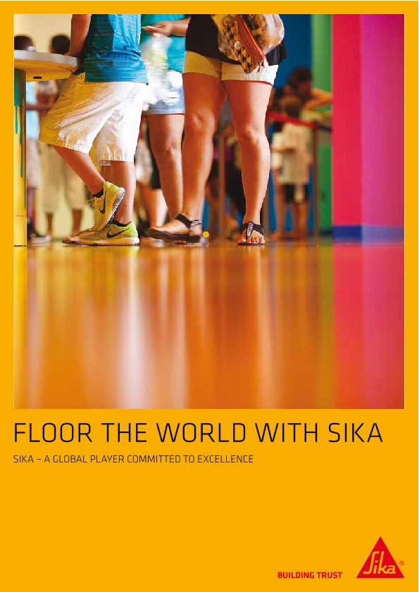 Floor Your World with Sika