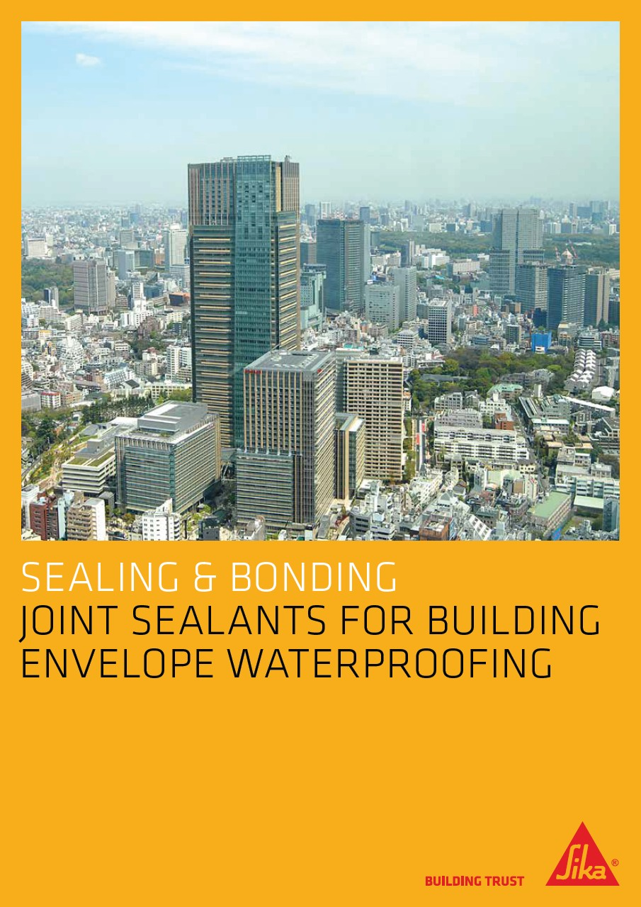 Sika Joint Sealants for Building Envelope Waterproofing