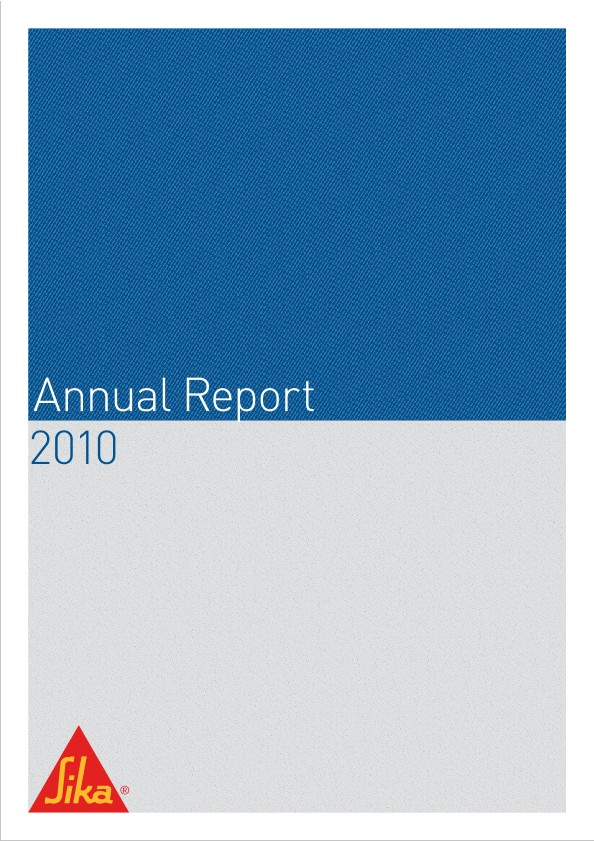 Sika Annual Report 2010 - Full Version