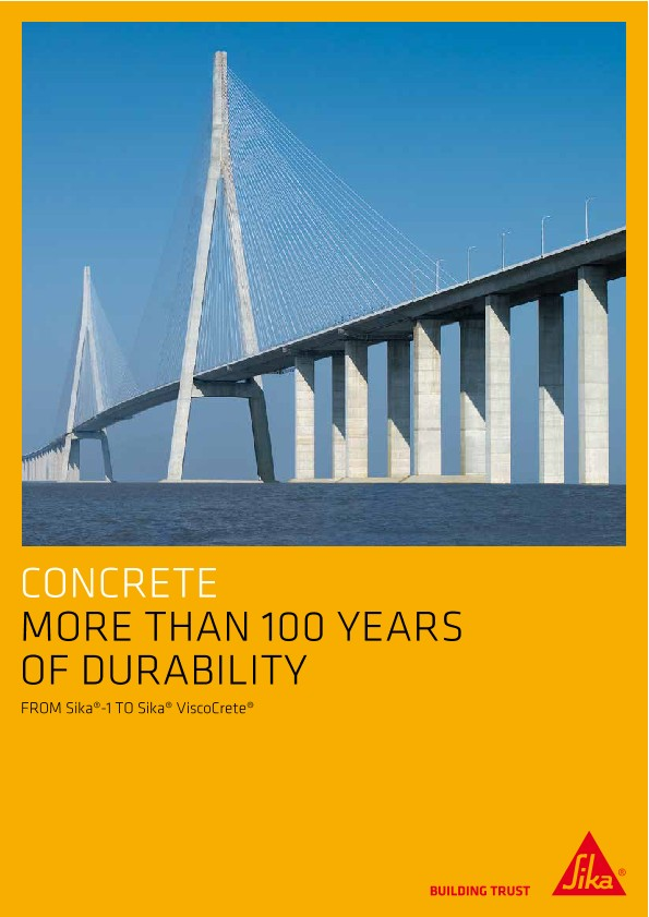 Concrete - More Than 100 Years of Durability