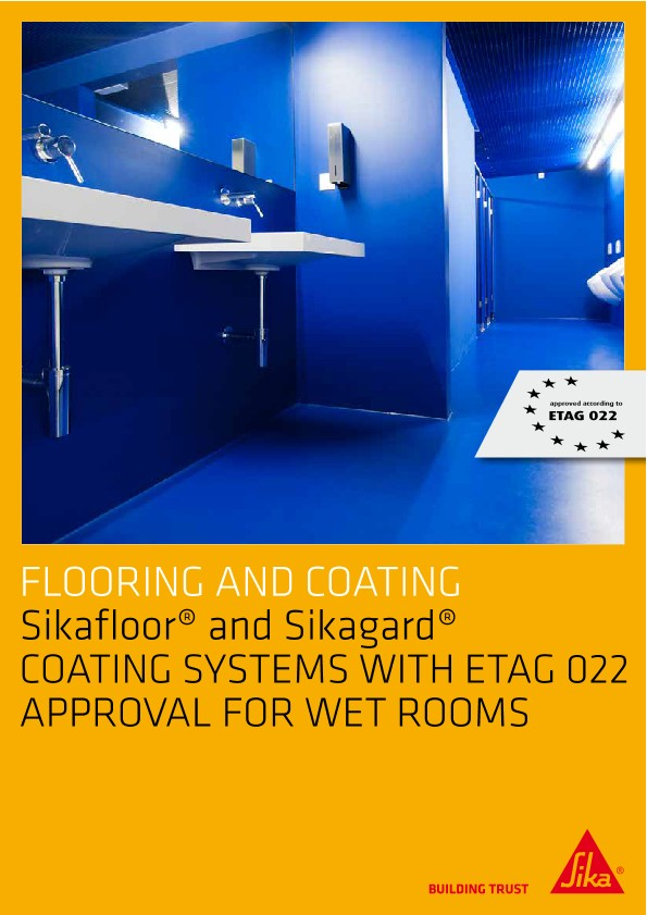 Sikafloor and Sikagard - Coating Systems