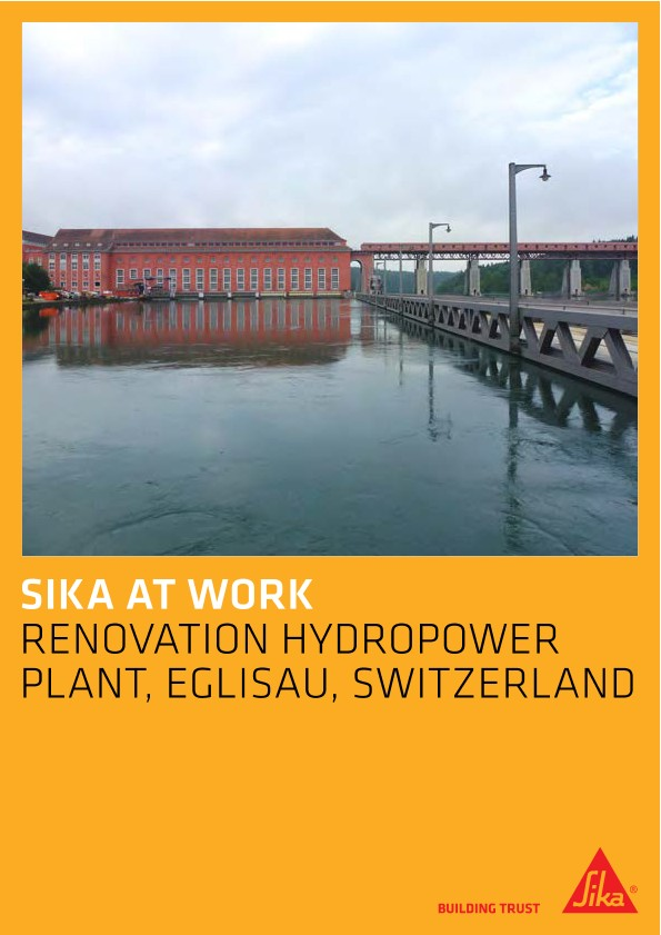 Renovation of a hydropower plant, Eglisau, Switzerland