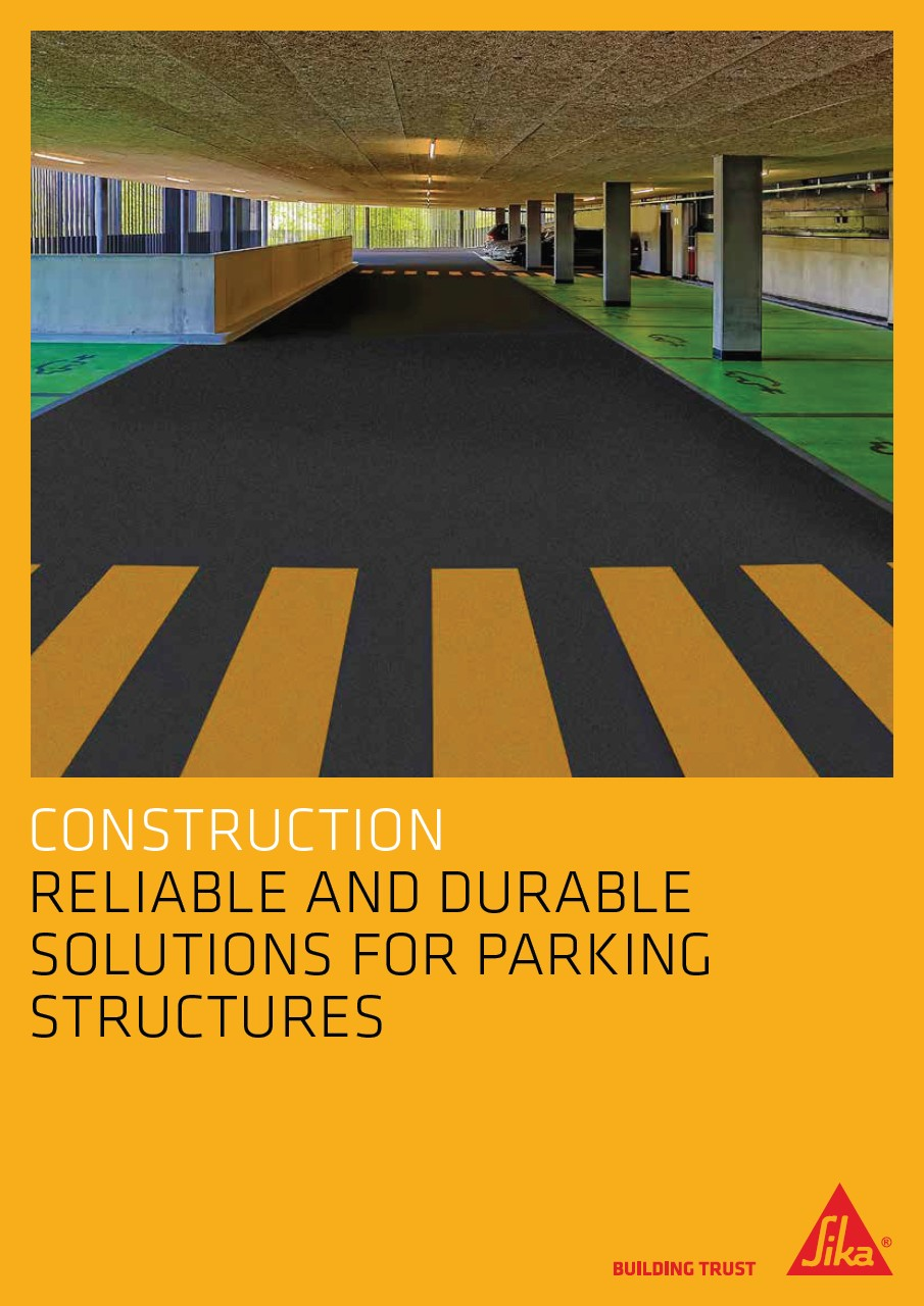 Reliable and Durable Solutions for Parking Structures