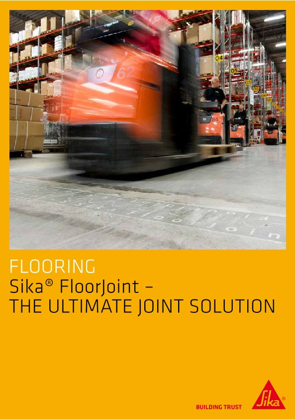 Sika FloorJoint - the Ultimate Joint Solutions