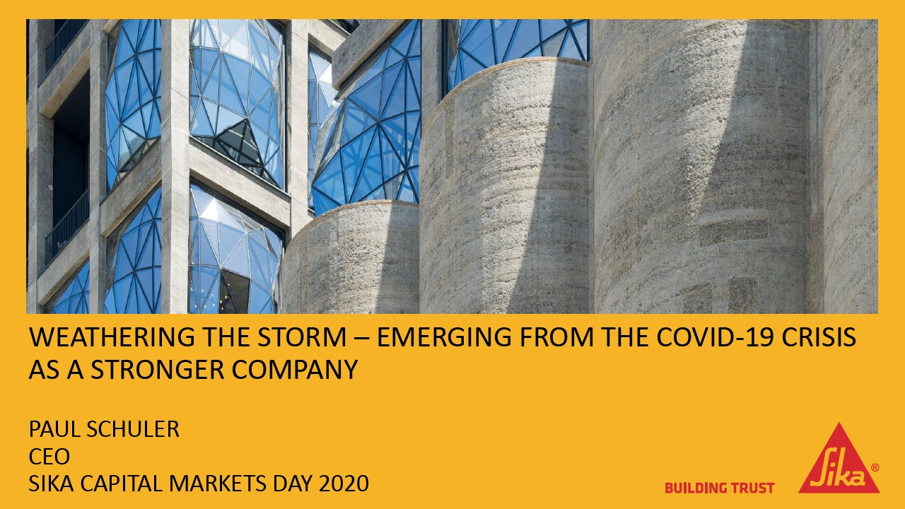 Weathering the Storm – Emerging from the Covid-19 Crisis as a Stronger Company