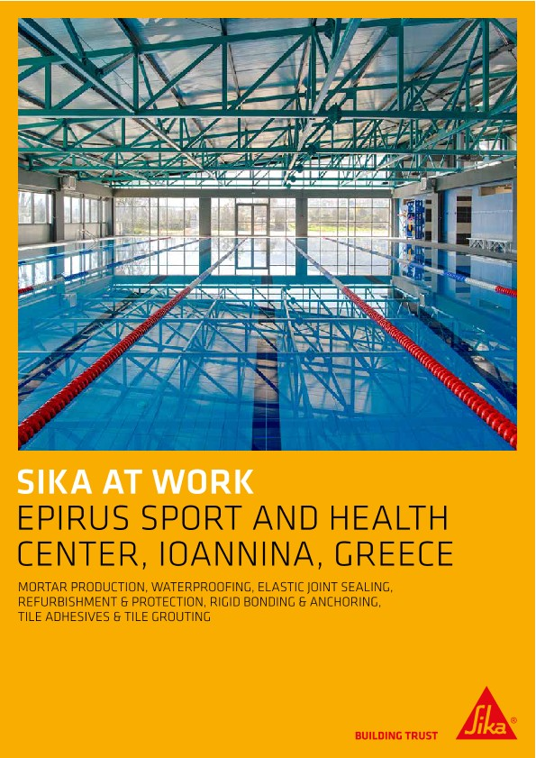 Epirus Sport and Health Center in Ioannina, Greece