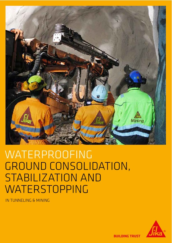 Waterproofing - Ground Consolidation, Stabilizing and Waterstopping