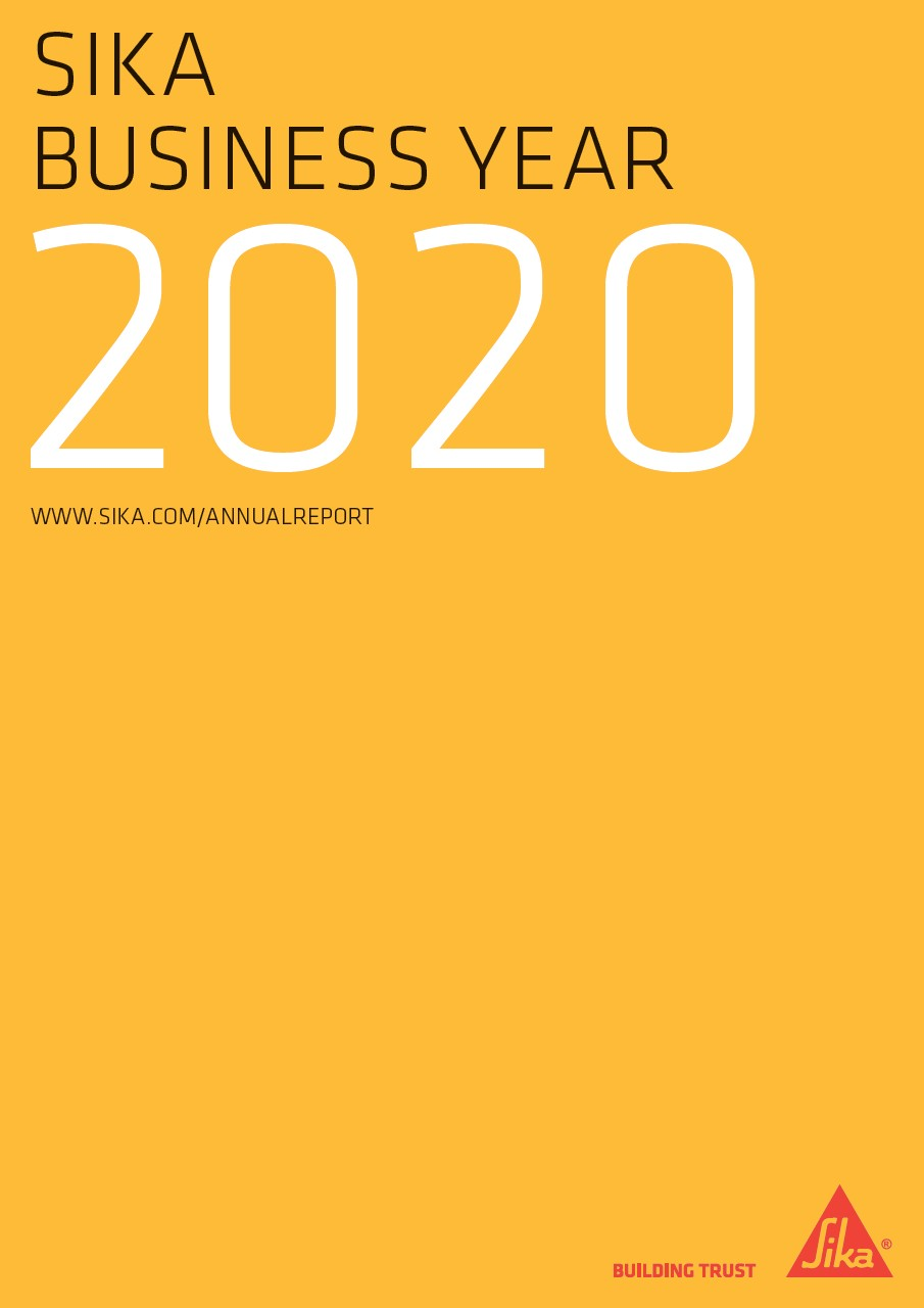 Sika Business Year - Annual Report 2020