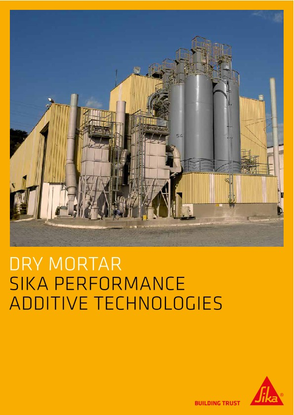 Dry Mortar - Sika Performance Additive Technologies
