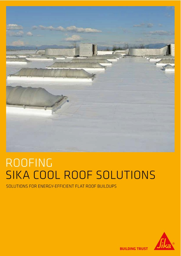 Sika Cool Roof Solutions