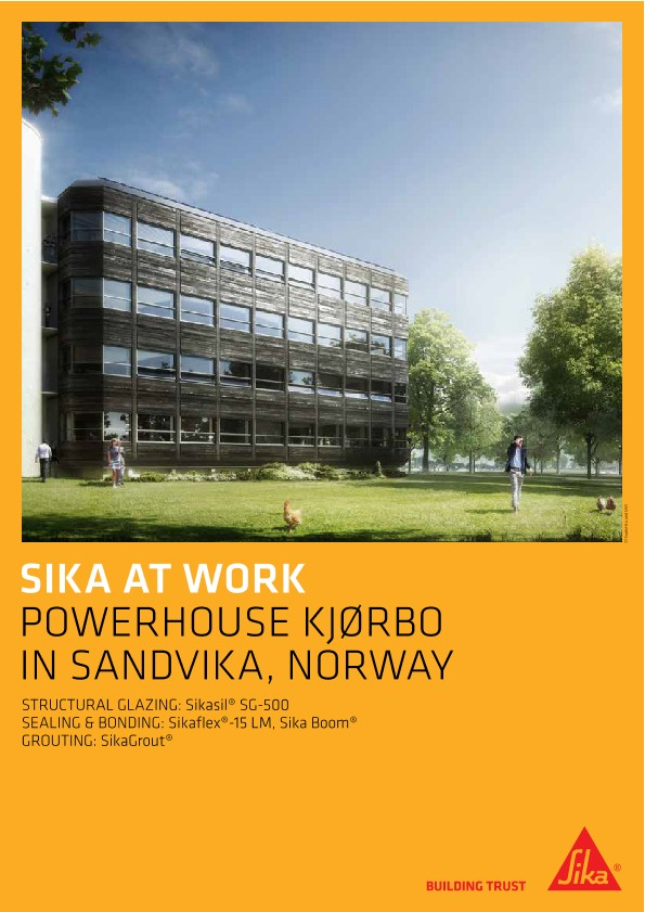 Powerhouse Kjoerbo Office in Sandvika, Norway