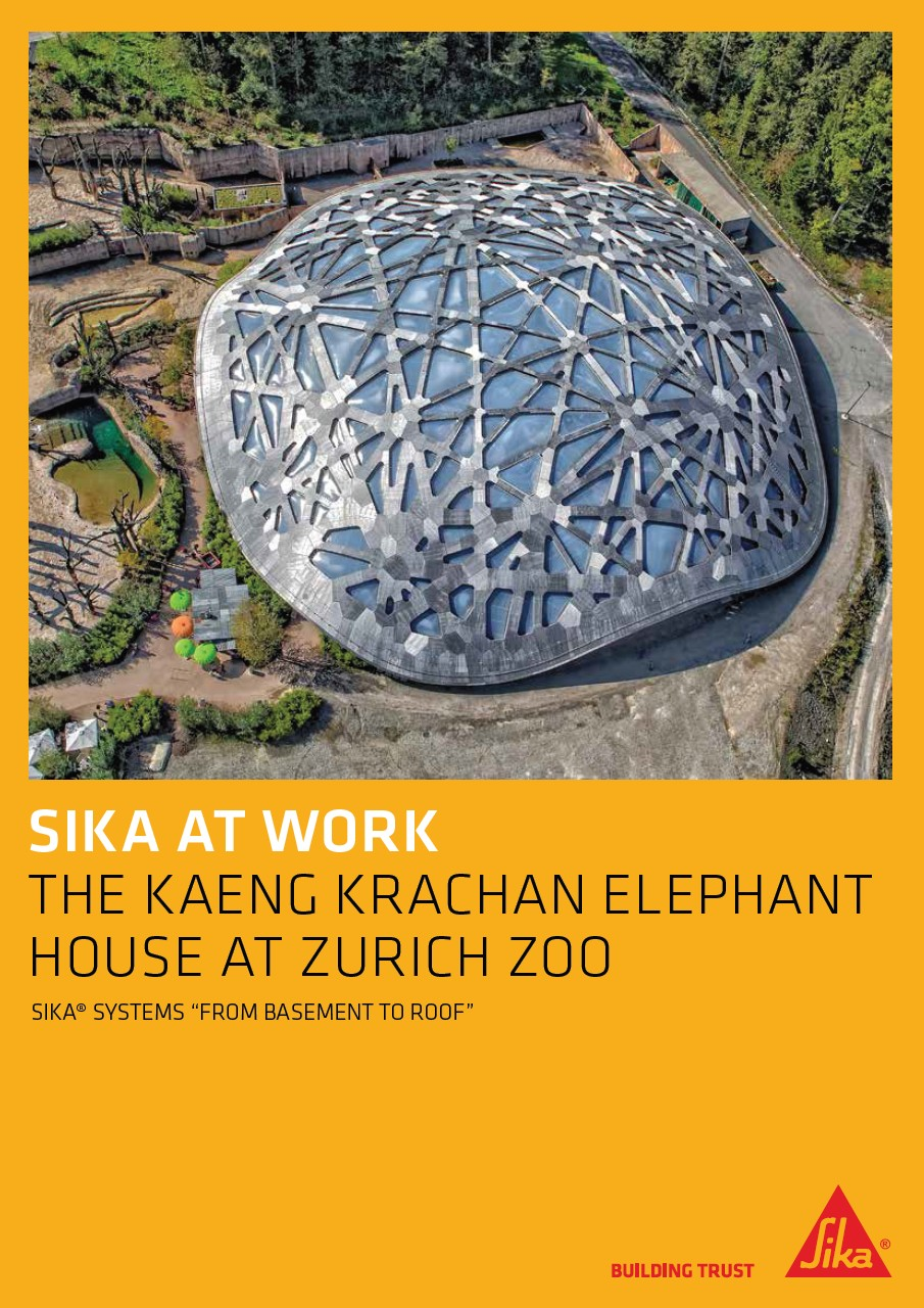 Kaeng Krachan Elephant House at Zurich Zoo
