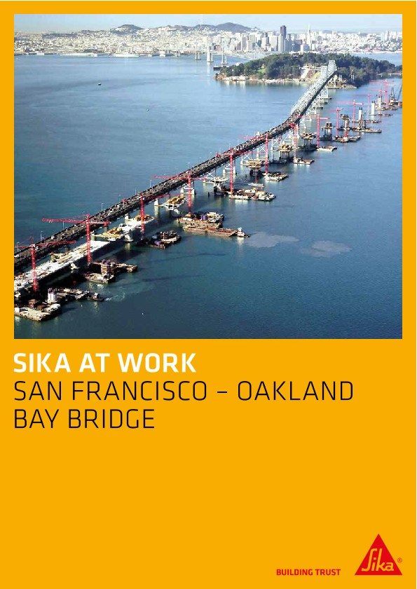 Construction of San Francisco - Oakland Bay Bridge