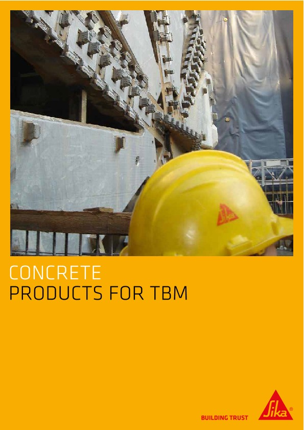 Concrete - Products for TBM