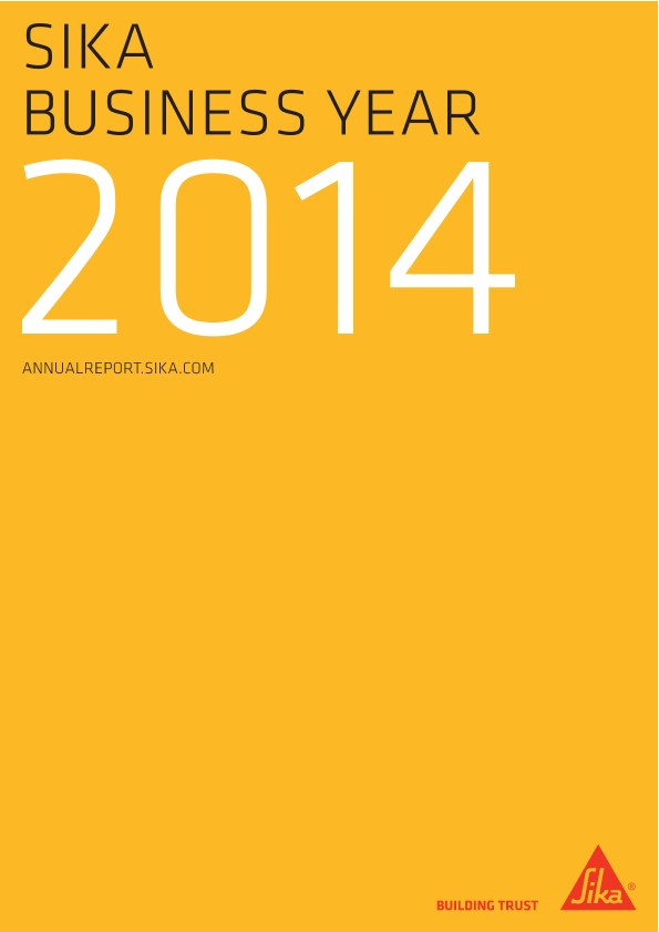 Sika Business Year - Annual Report 2014