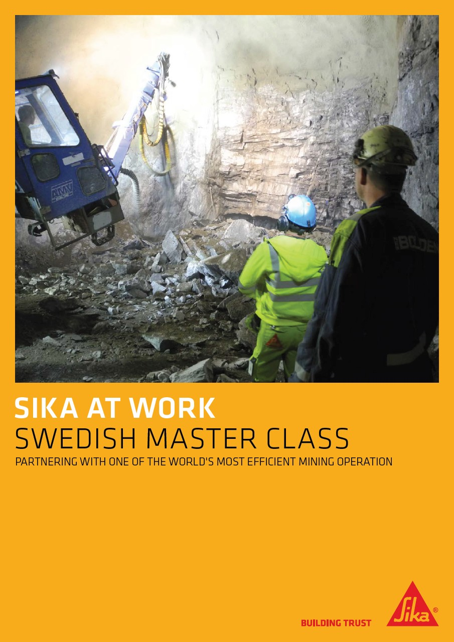 Swedish Master Class - Garpenberg Mine in Sweden