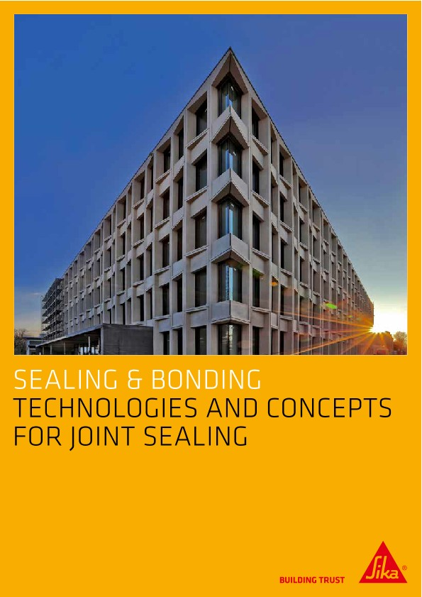 Technologies and Concepts for Joint Sealing