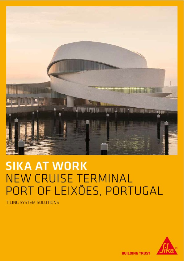 Cruise Terminal, Port of Leixoes, Portugal