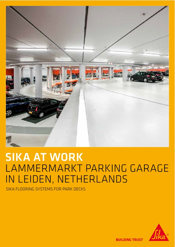 Lammermarkt Parking Garage in Leiden, Netherlands
