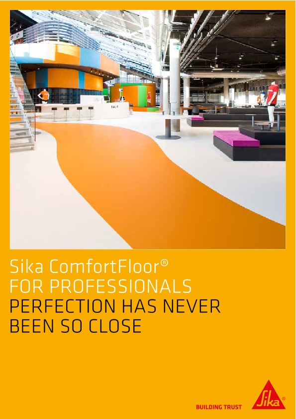 Sika ComfortFloor for Professionals
