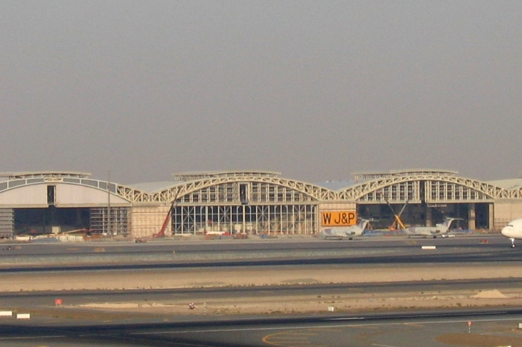Dubai International Airport Hangars