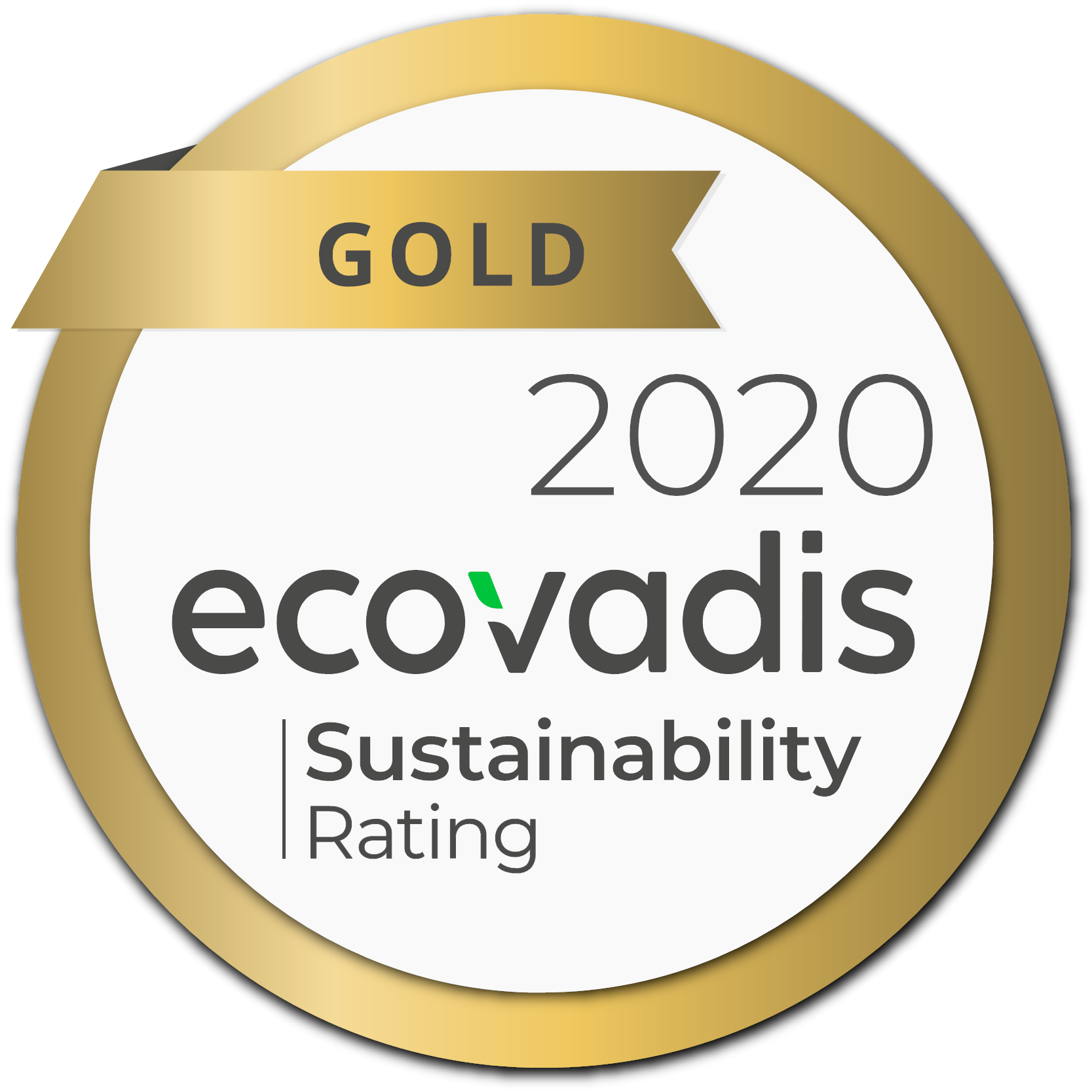 Ecovadis Gold Rating for Sika