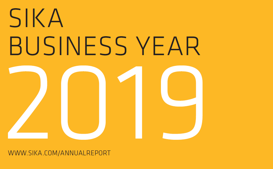 Sika Sustainability Report 2019